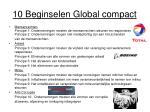 10 beginselen global compact