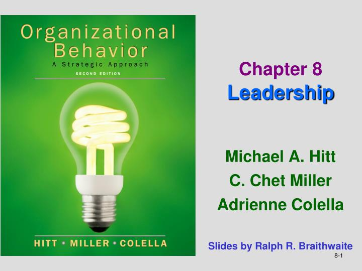 chapter 8 leadership n.