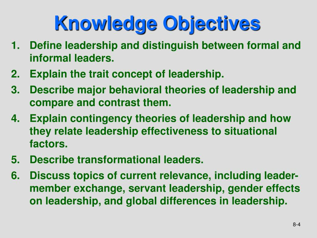 PPT - Chapter 8 Leadership PowerPoint Presentation - ID:6067398