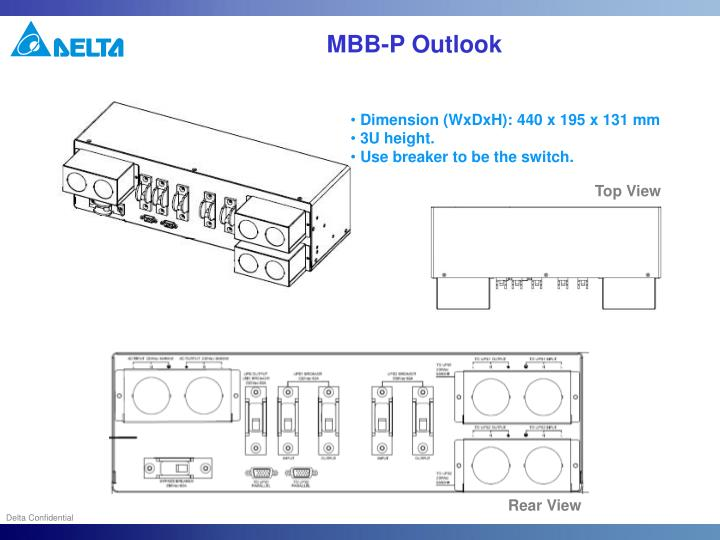 MBB-P Outlook