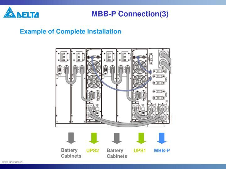 MBB-P Connection(3)