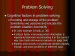 problem solving10