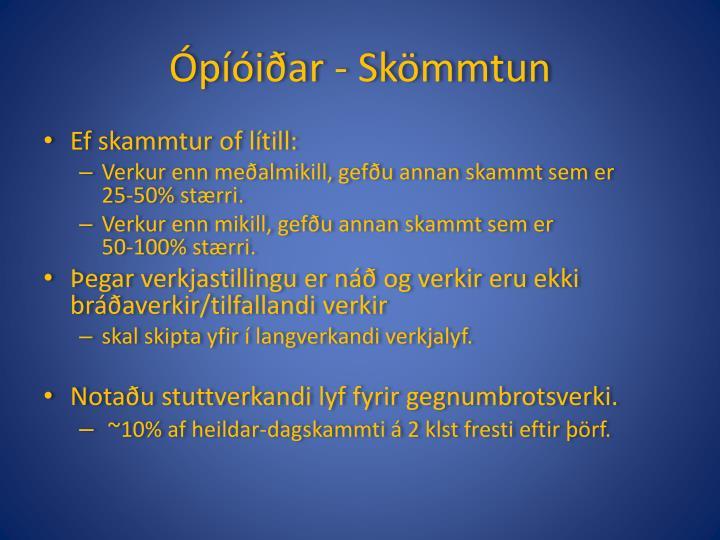 Ópíóiðar