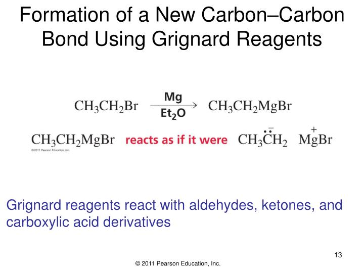 Formation of a New Carbon–Carbon