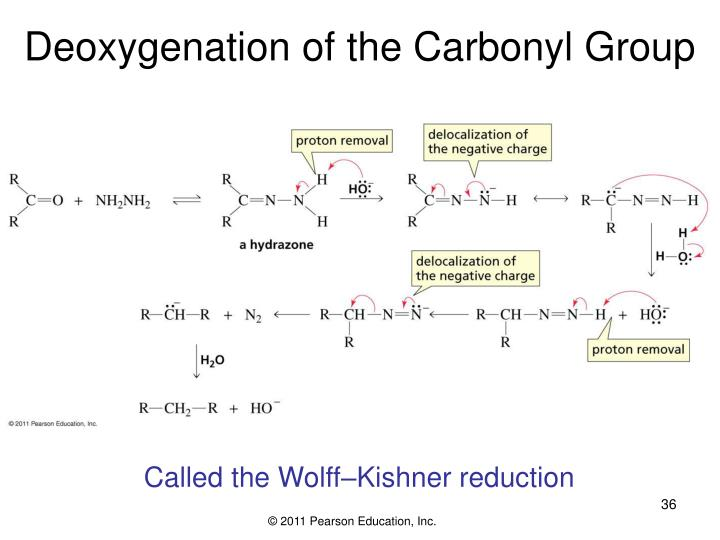 Deoxygenation of the Carbonyl Group