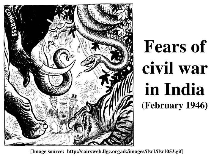 Fears of civil war in India