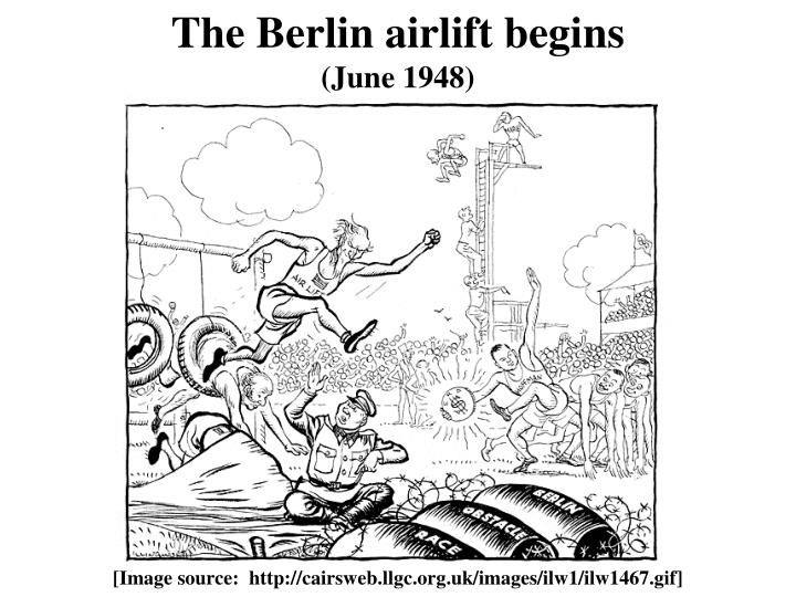The Berlin airlift begins