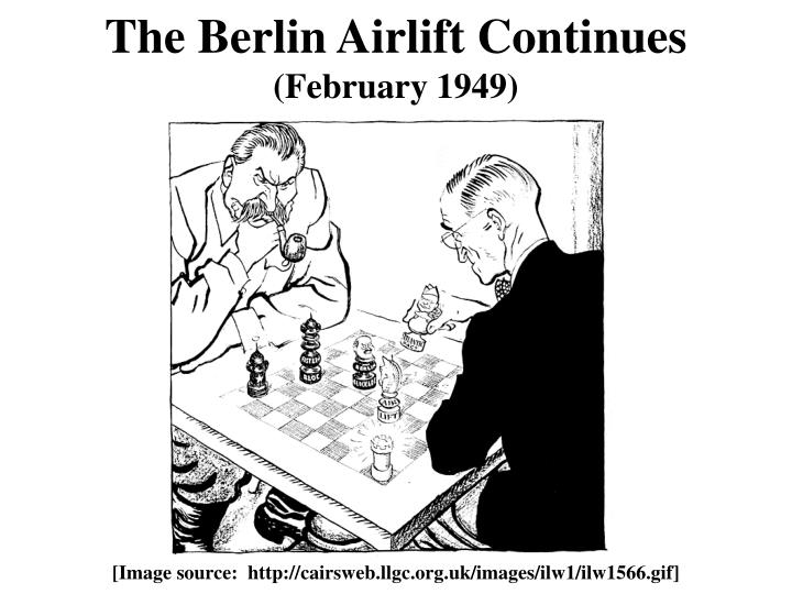 The Berlin Airlift Continues