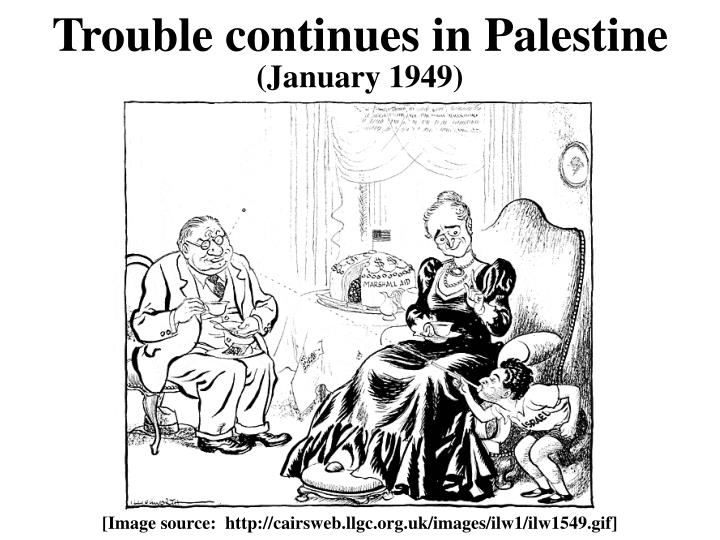 Trouble continues in Palestine