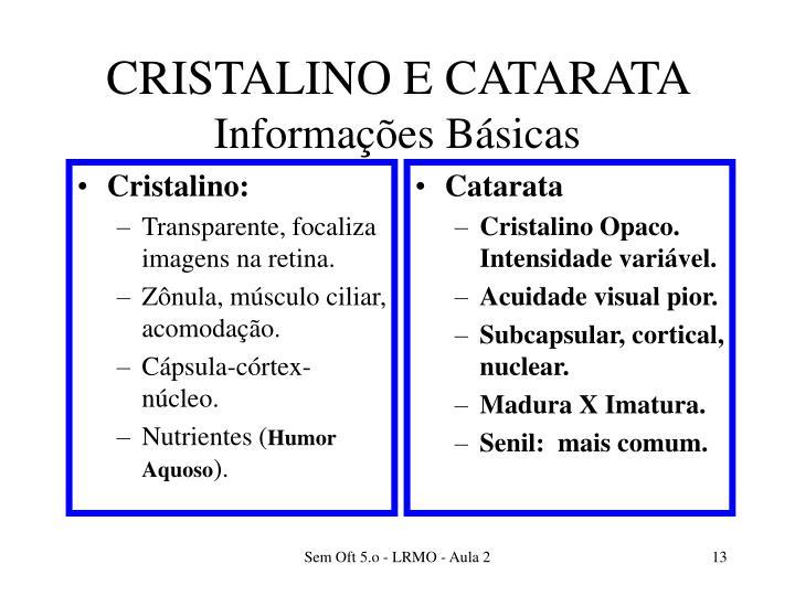Cristalino: