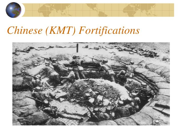 Chinese (KMT) Fortifications