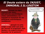 el deute extern s injust immoral i il leg tim