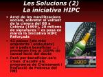 les solucions 2 la iniciativa hipc