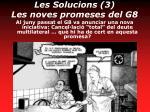 les solucions 3 les noves promeses del g8