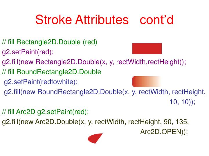 Stroke Attributes