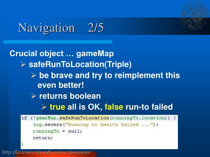 Navigation    2/5