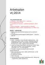 arbetsplan vt 20141