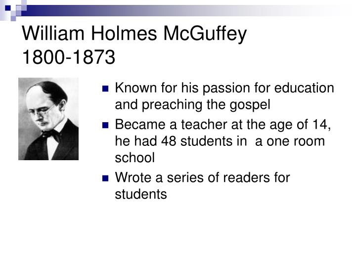 William Holmes McGuffey