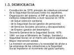 1 5 democracia
