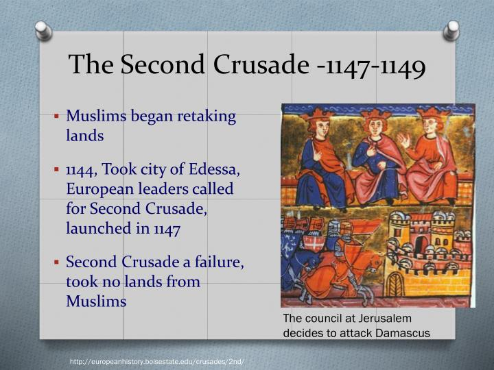 the success and failures of the crusades attempts to reclaim the holy land A brief overview of the third crusade  1) origins of the crusade  and then clement iii called for a new crusade to reclaim the land of christ's birth for.