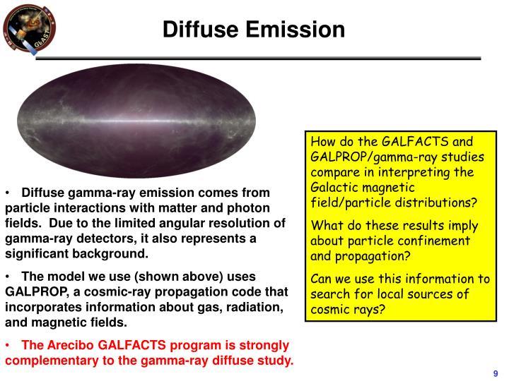 Diffuse Emission