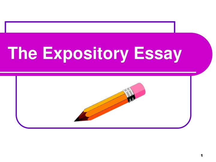 what do facts play in expository essays