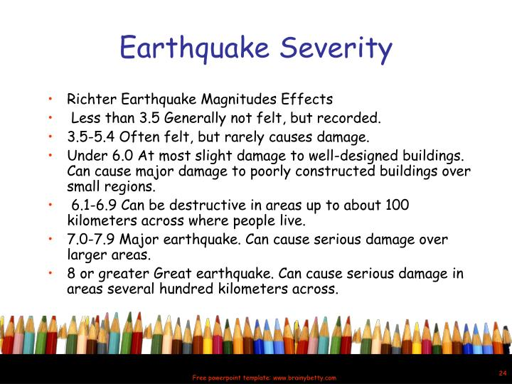 Ppt quaking shaking earth powerpoint presentation id6071324 earthquake severity toneelgroepblik Gallery