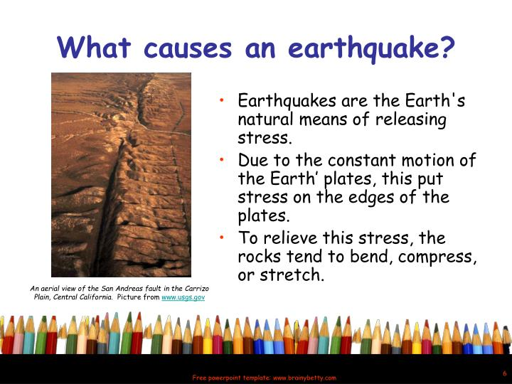 Ppt quaking shaking earth powerpoint presentation id6071324 what causes an earthquake toneelgroepblik Gallery