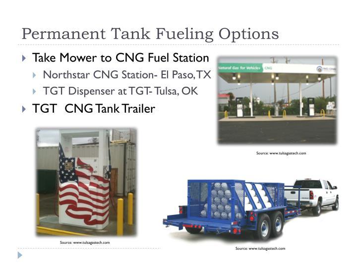 Permanent Tank Fueling Options