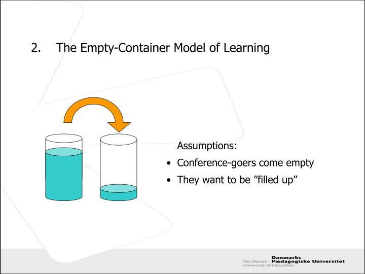 2 the empty container model of learning