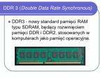 ddr 3 double data rate synchronous