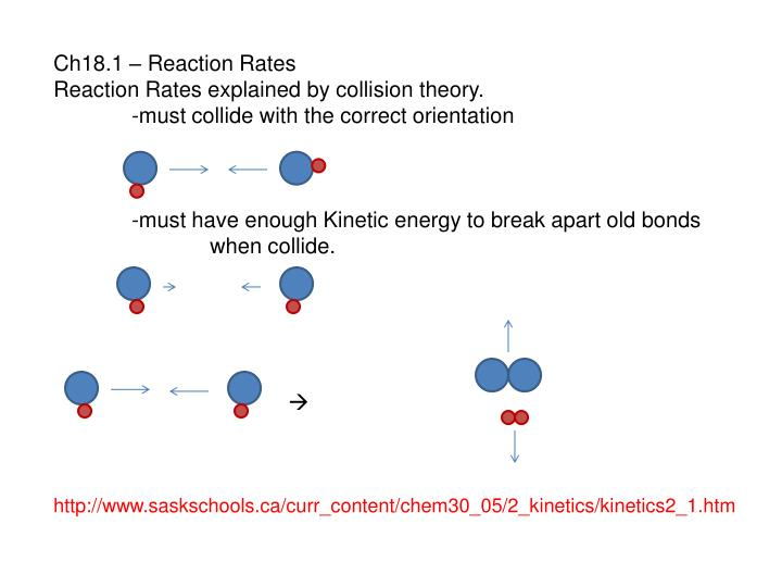 Ppt Ch181 Reaction Rates Explained By Collision. Reaction Rates Explained By Collision Theory. Worksheet. Reaction Mechanisms And Collision Theory Worksheet At Clickcart.co