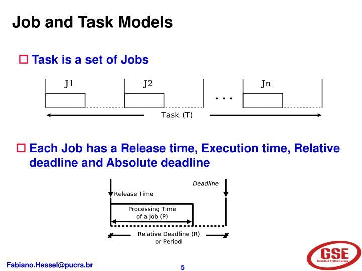 Job and Task Models