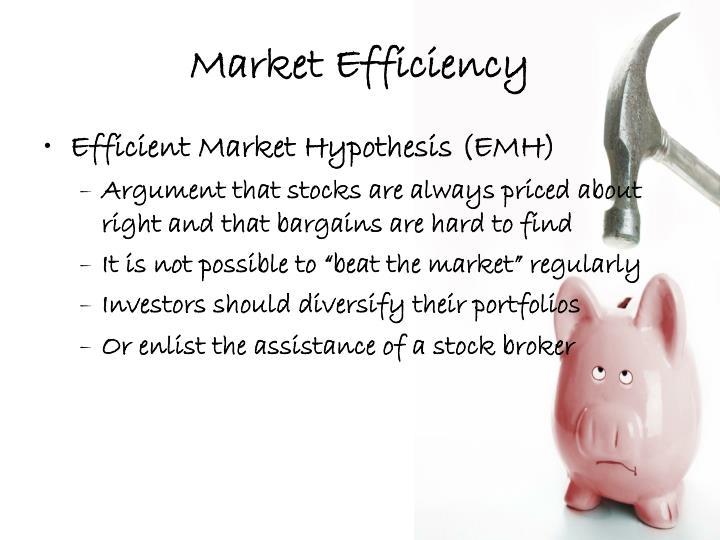 Market Efficiency