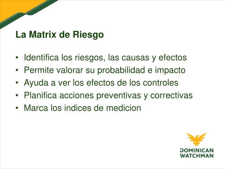 La Matrix de