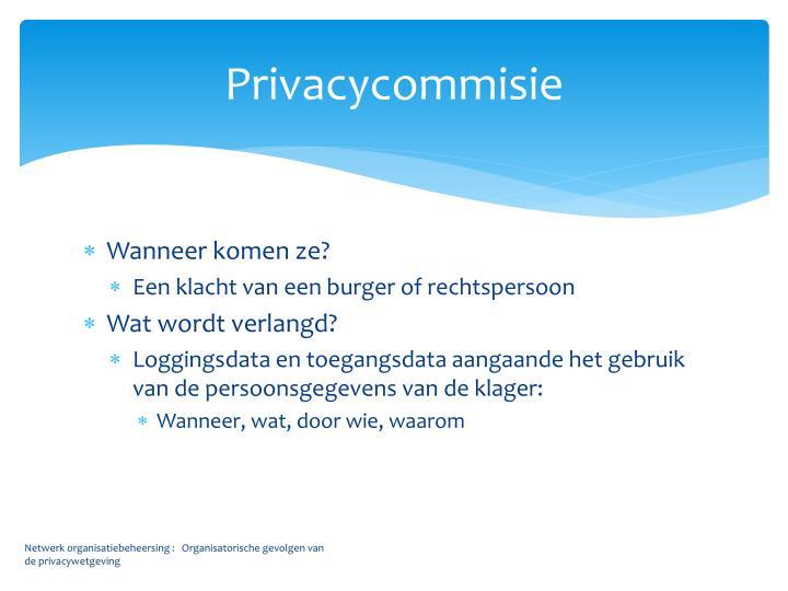 Privacycommisie