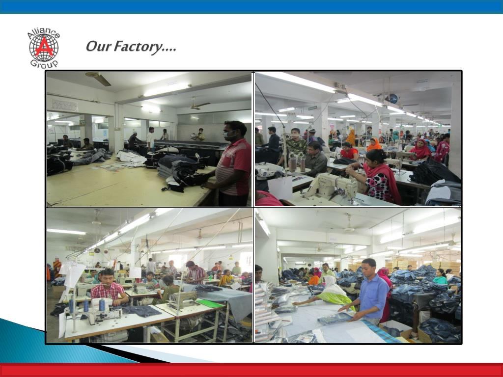 PPT - Manufacturer & Exporter of Quality Woven & Knit Garments