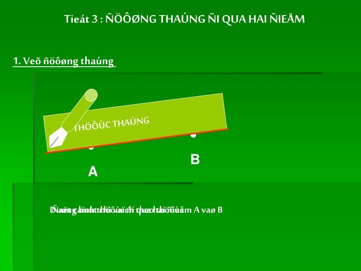 THÖÔÙC THAÚNG
