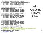 win1 outgoing firewall chain