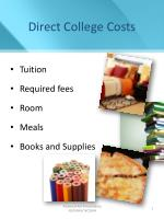 direct college costs