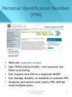 personal identification number pin