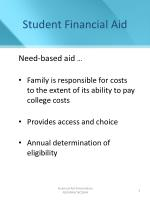 student financial aid1