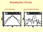 bounding box events