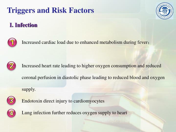 Increased cardiac load due to enhanced metabolism during fever
