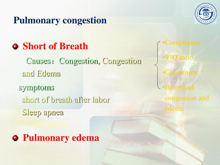 Pulmonary congestion