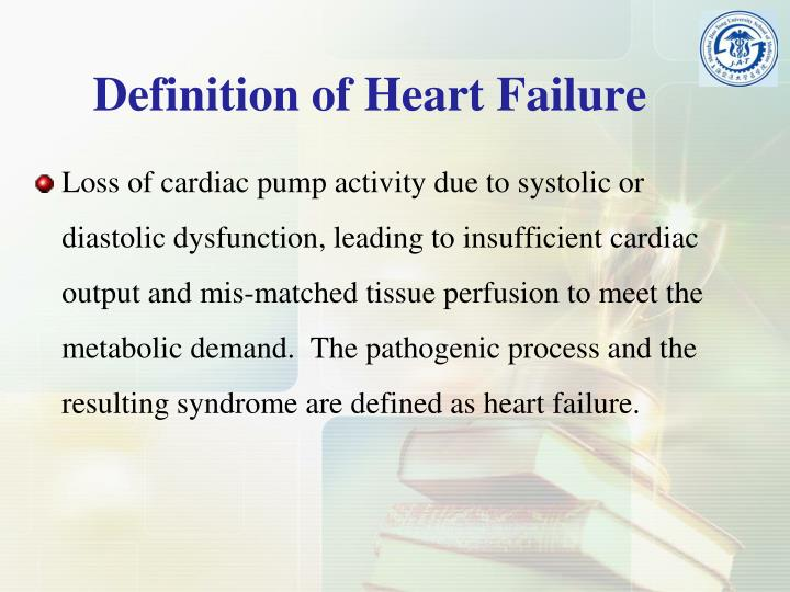 Definition of Heart Failure