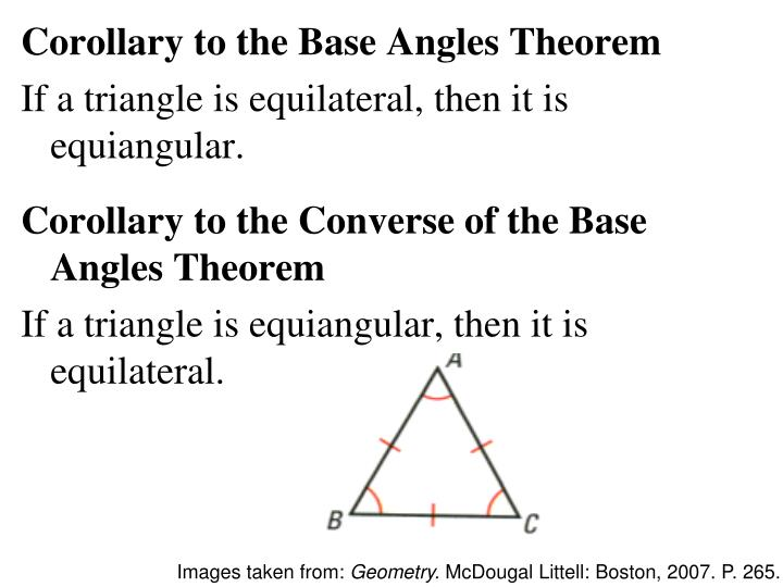 Ppt Geometry Chapter 4 Powerpoint Presentation Id6074311