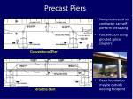 precast piers