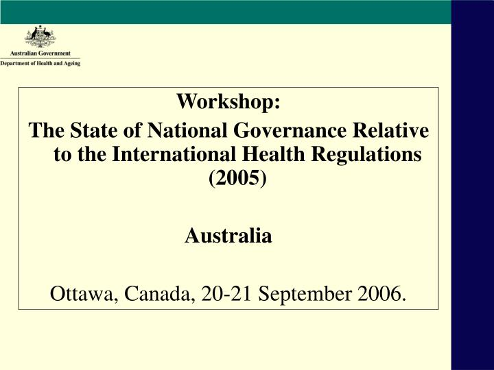 role of policy in regulating health Roles of government include licensing, protecting and improving public health, determining the safety and effectiveness of drugs and medical devices, and supporting medical education, training, and research, among others.
