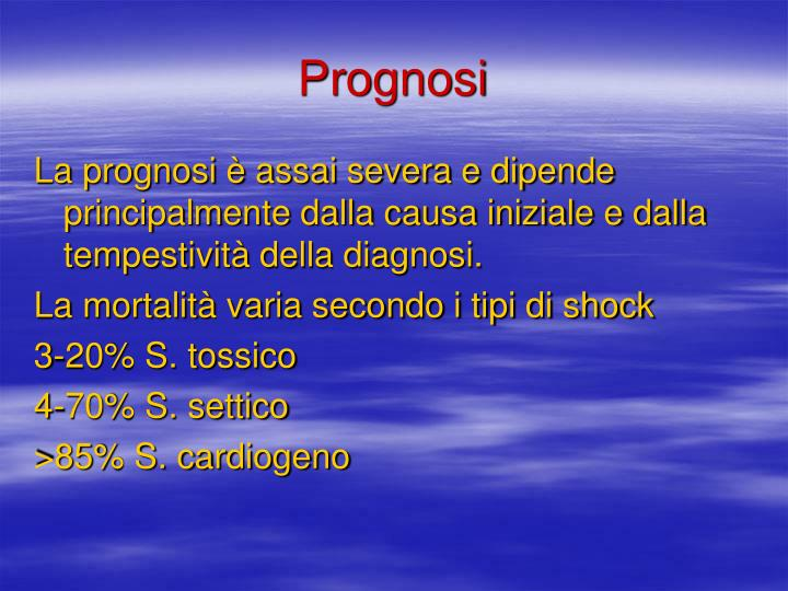 Prognosi